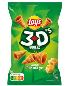 3 D's Bugles, Fromage, 85 g.