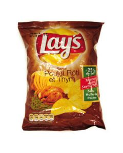 Lay s poulet thym 27.5g.