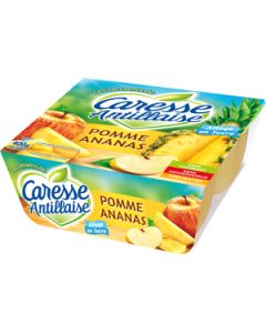 Compotes, Pommes Ananas, 4X100g.