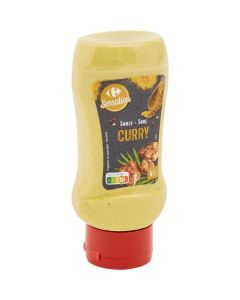 Sauce curry top down 355G Carrefour