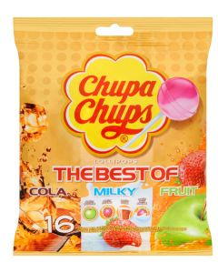 16 Sucettes the best of, cola milky fruit