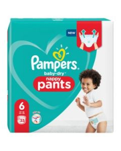 Couches baby dry, nappy pants T6 X33