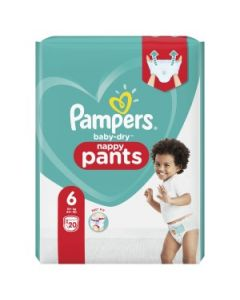 Couches baby dry, nappy pants T6 X20